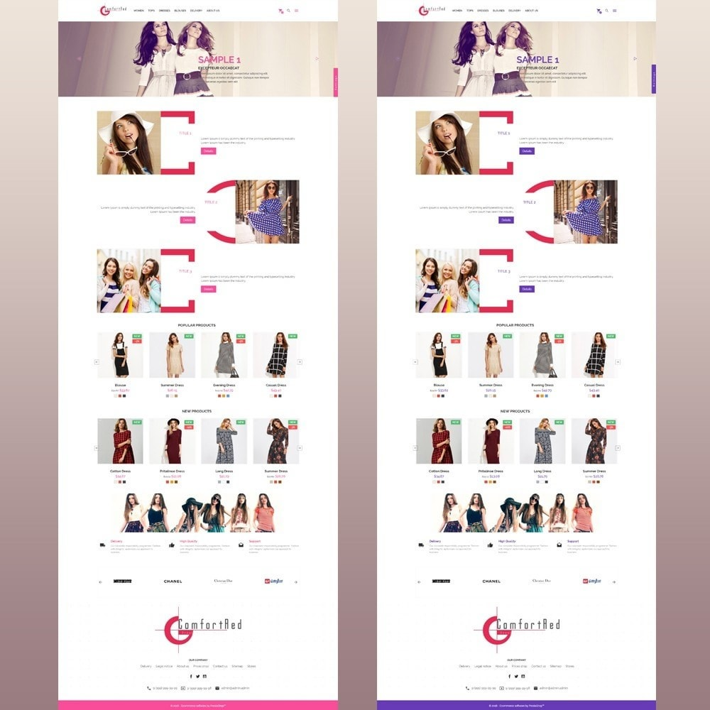 theme - Moda & Calzature - ComfortRed Style Clothes Store - 11