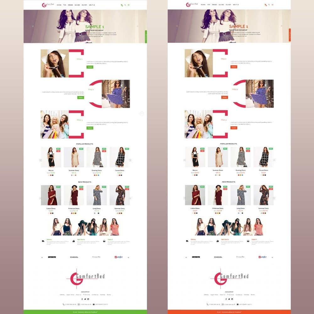 theme - Moda & Calzature - ComfortRed Style Clothes Store - 13