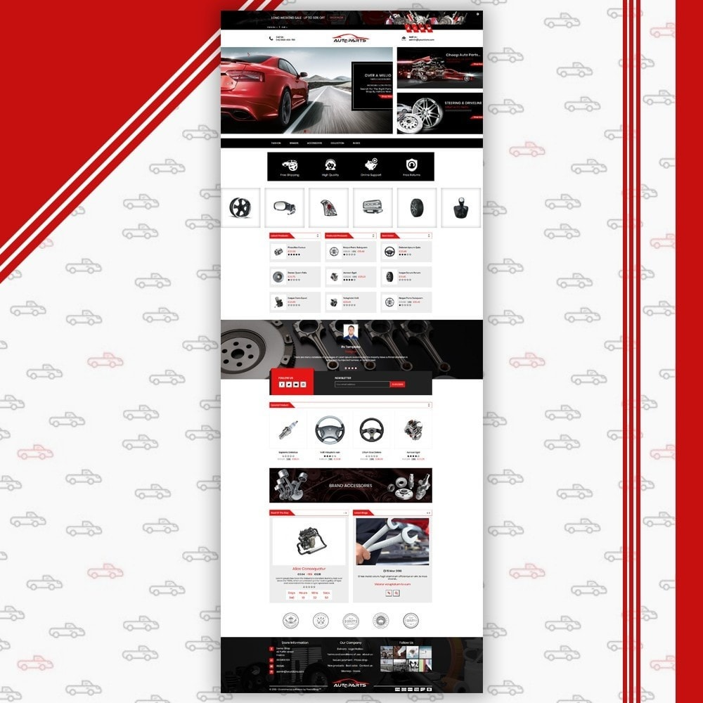 theme - Coches y Motos - Auto Parts Shop - 2