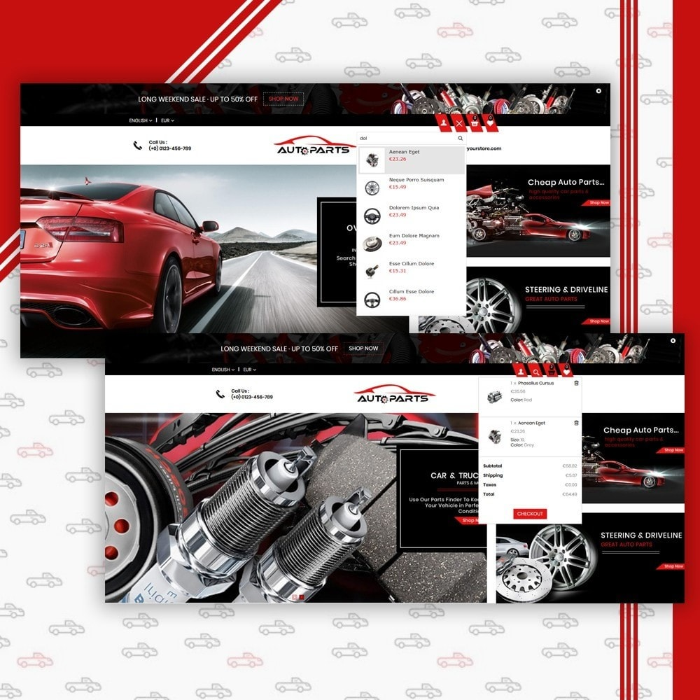 theme - Coches y Motos - Auto Parts Shop - 6