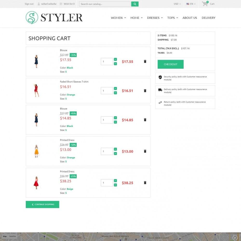 theme - Mode & Chaussures - InStyle - Boutique De Vêtements - 6