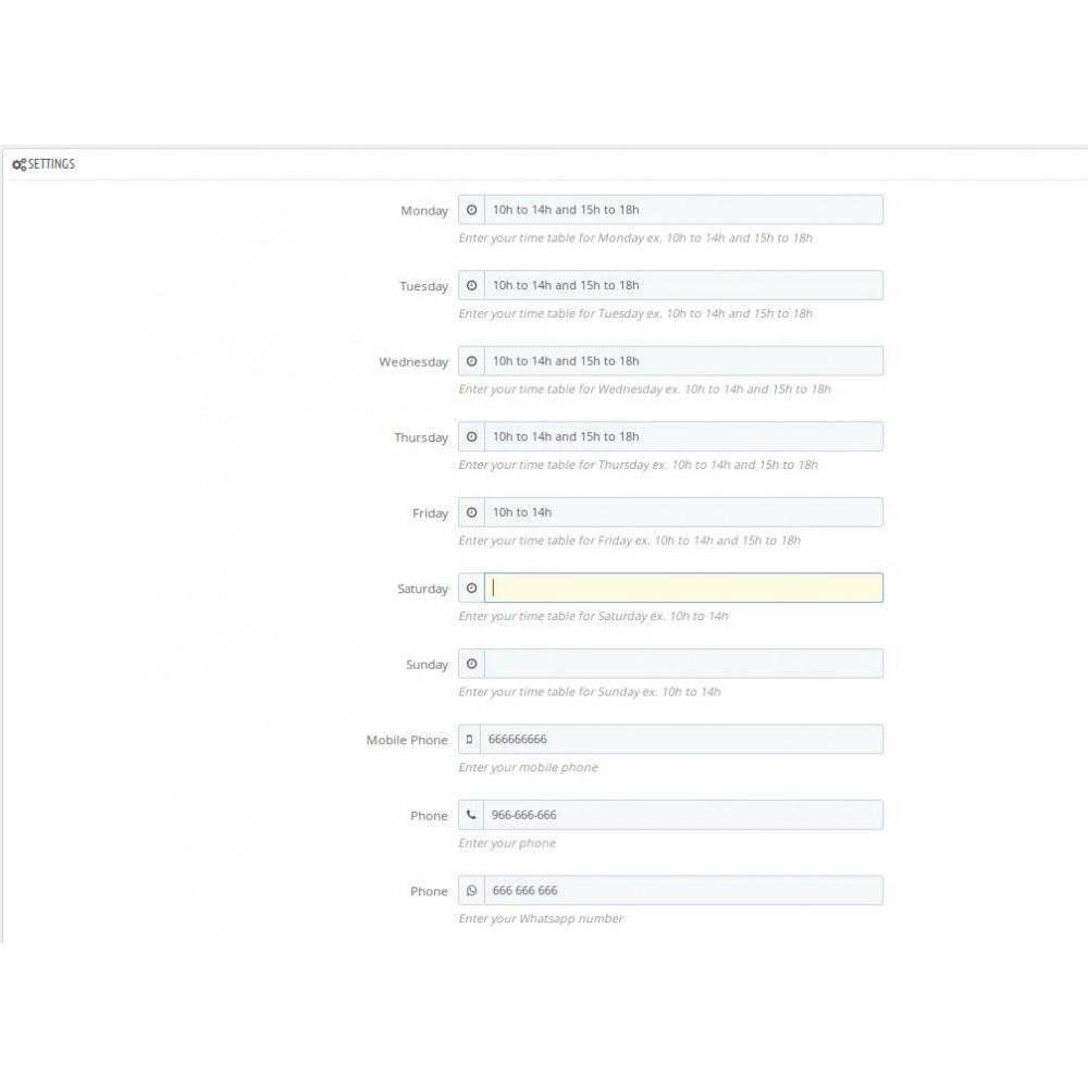 module - Page Customization - Moreshopinfo - 4