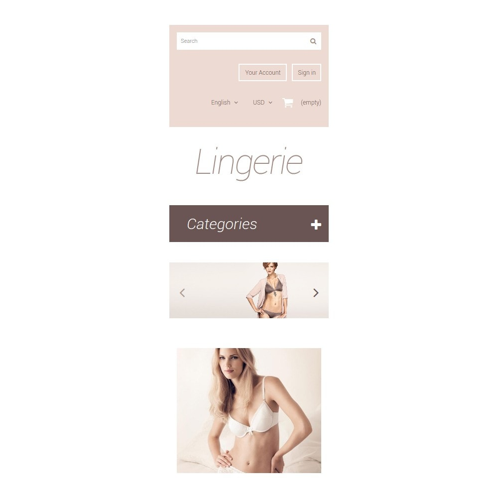 theme - Мода и обувь - Elegant Lingerie - 9