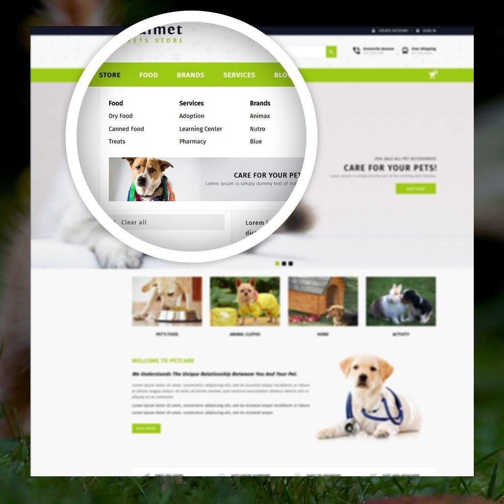 theme - Dieren - Walmet - Pets Store - 7