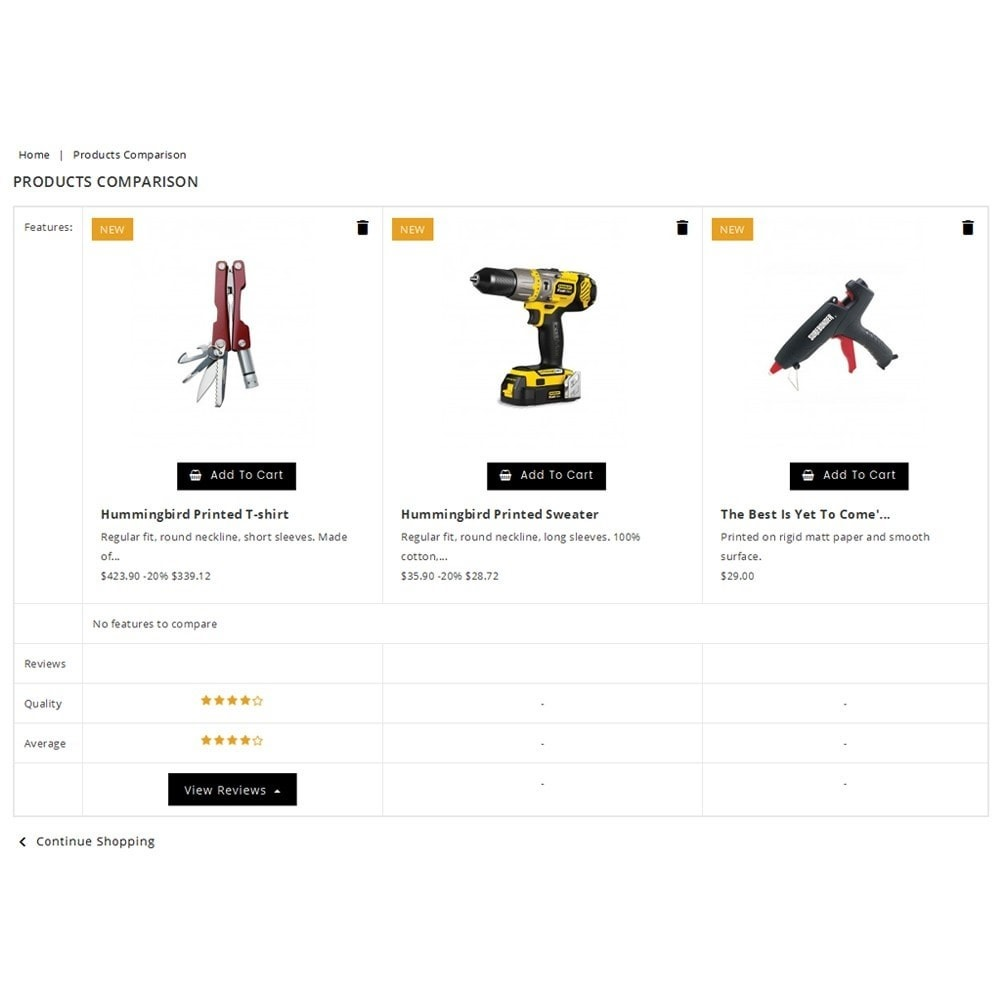 theme - Automotive & Cars - PowerTools Store - 9