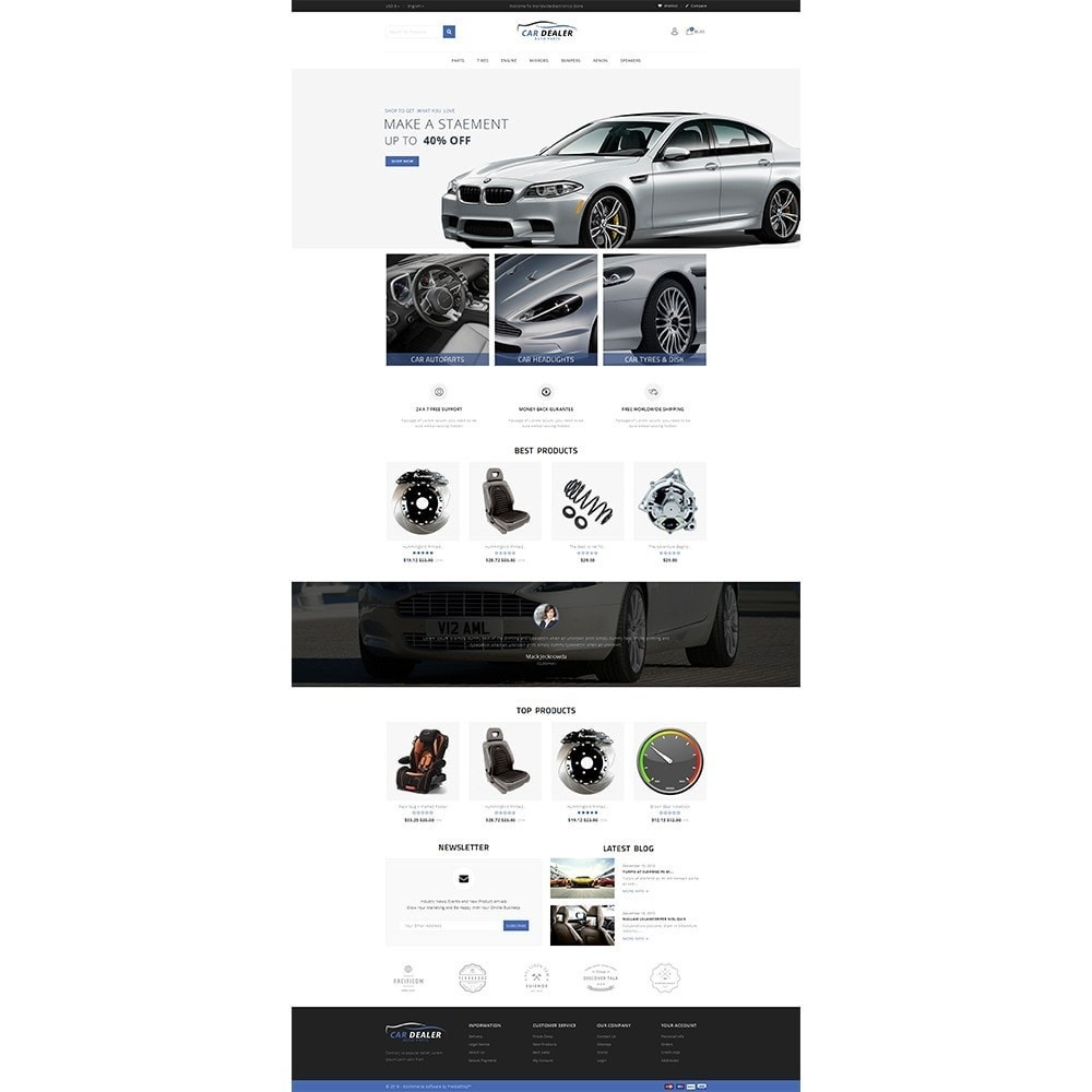 theme - Carros & Motos - Car Dealer Store - 2