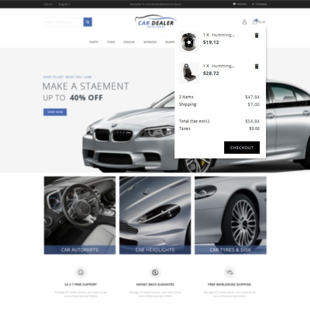 theme - Carros & Motos - Car Dealer Store - 8