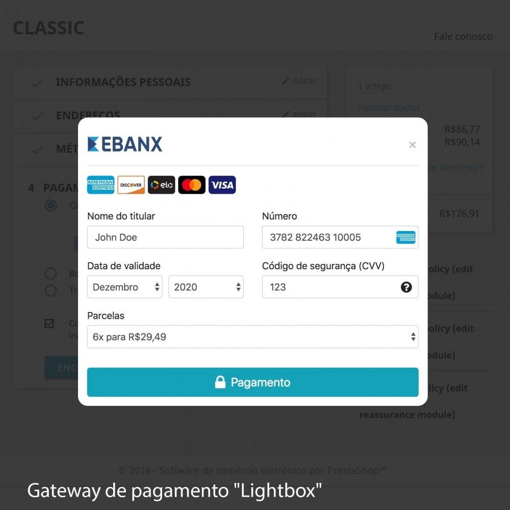 module - Pagamento por cartão ou por carteira - EBANX Plus - 7