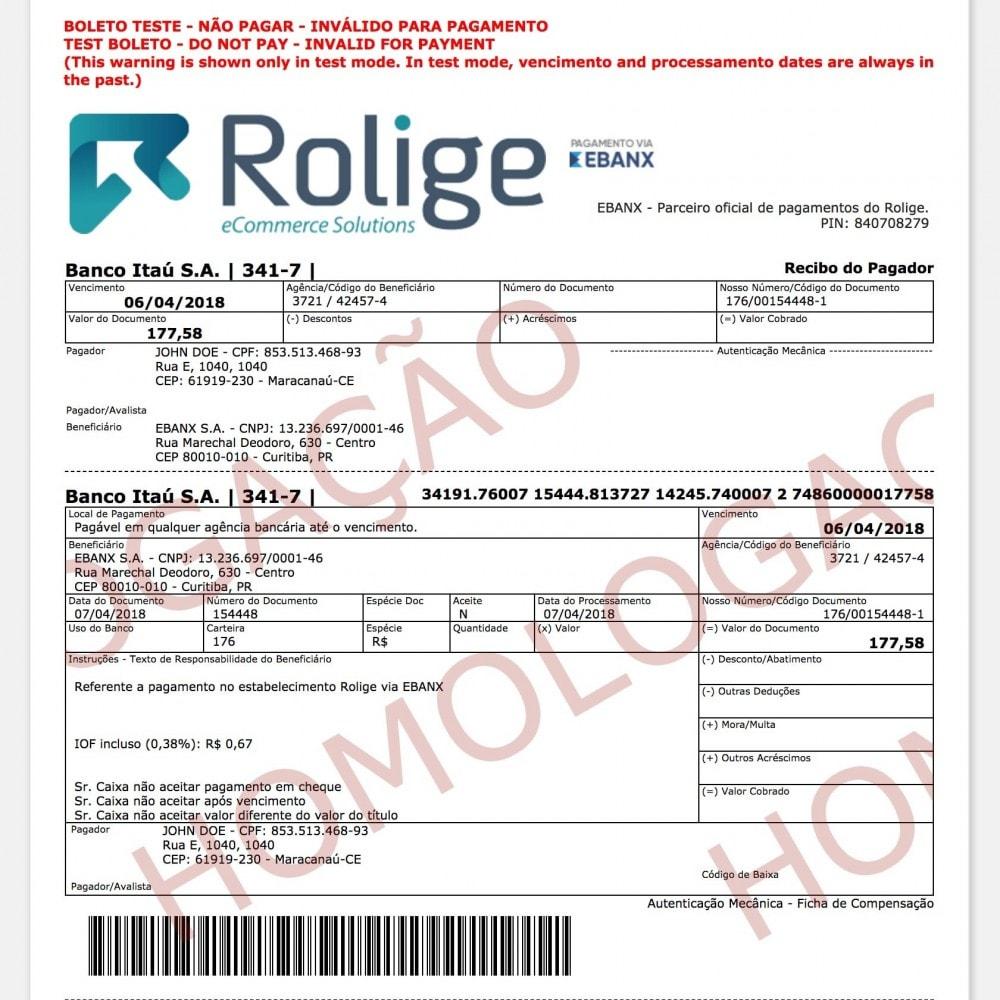 module - Pagamento por cartão ou por carteira - EBANX Plus - 11