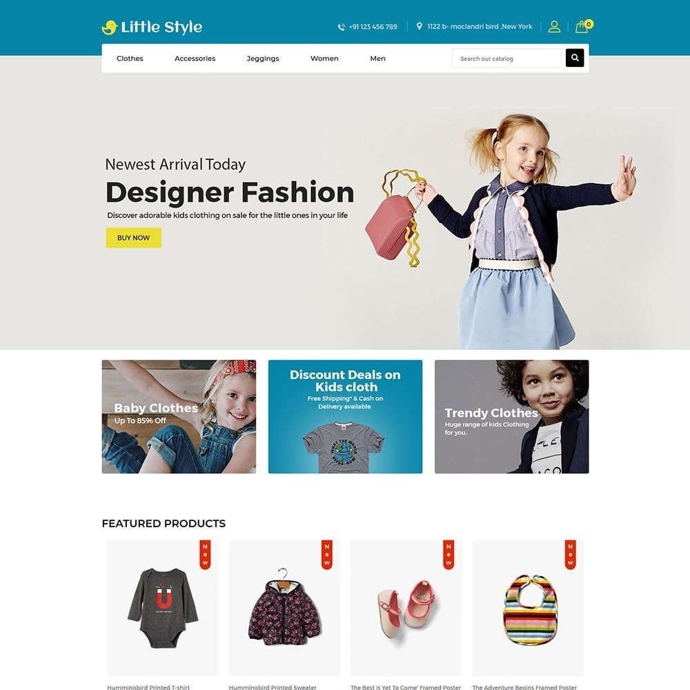 theme - Mode & Chaussures - Little Style Kids Store - 2