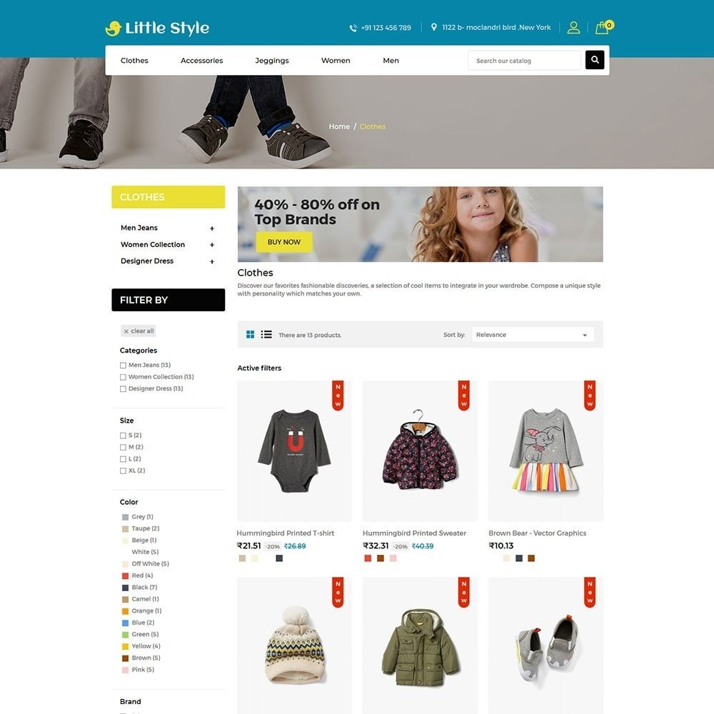 theme - Mode & Chaussures - Little Style Kids Store - 3