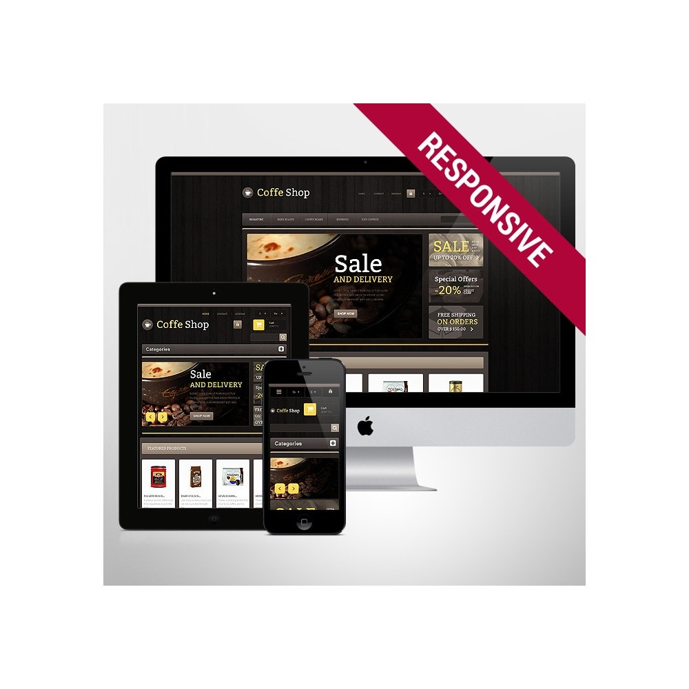 theme - Eten & Restaurant - Responsive Coffee Shop - 1