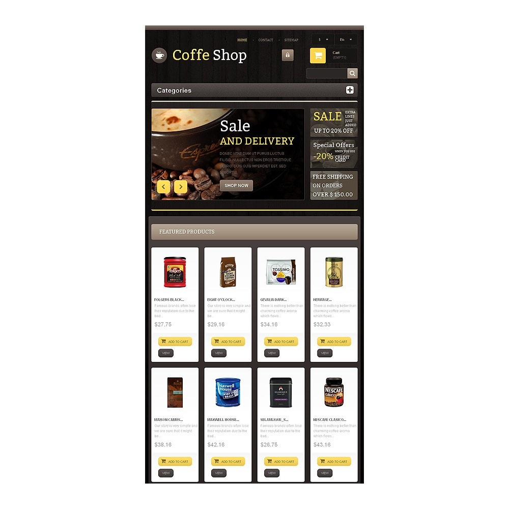 theme - Eten & Restaurant - Responsive Coffee Shop - 7