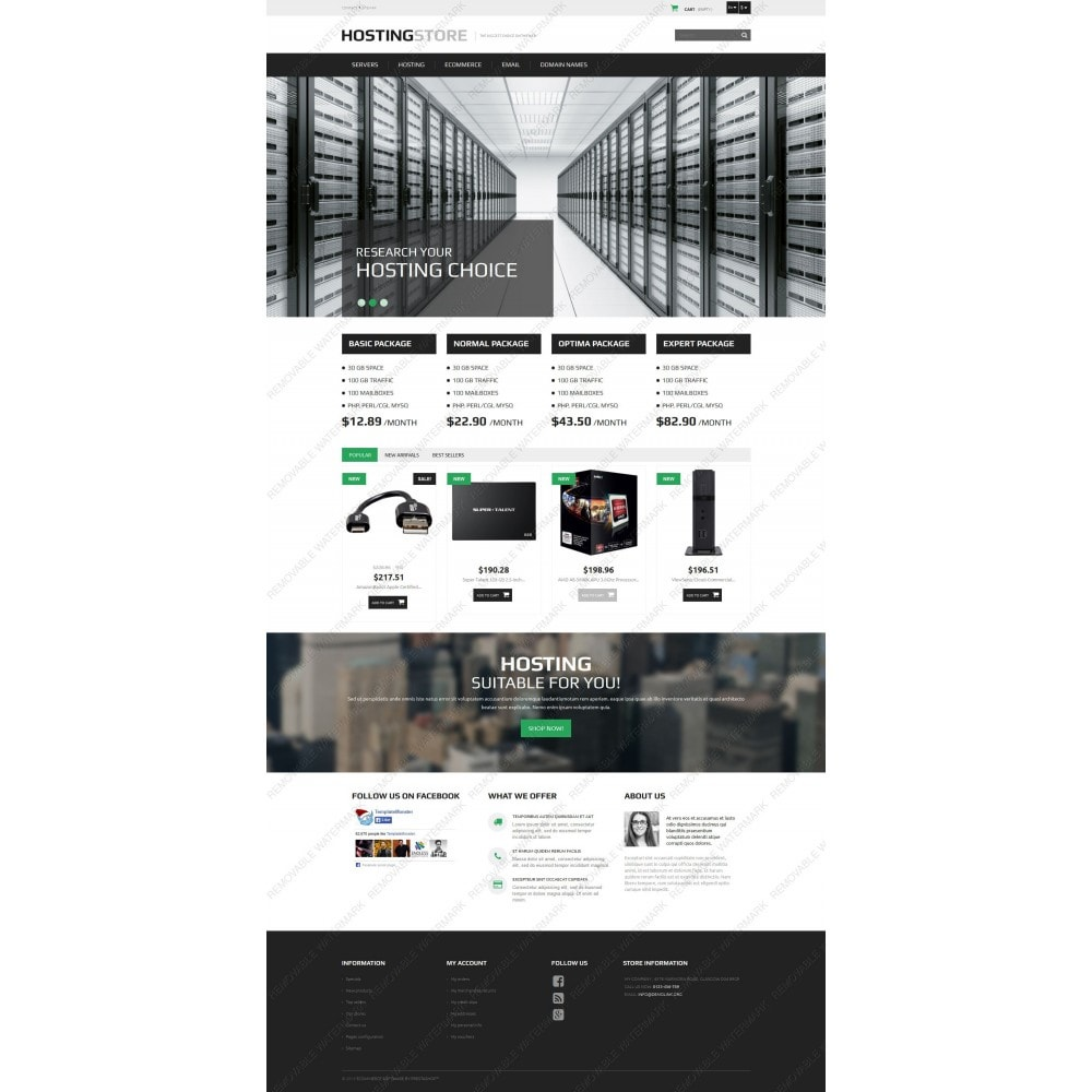 theme - Elektronik & High Tech - Hosting - 5