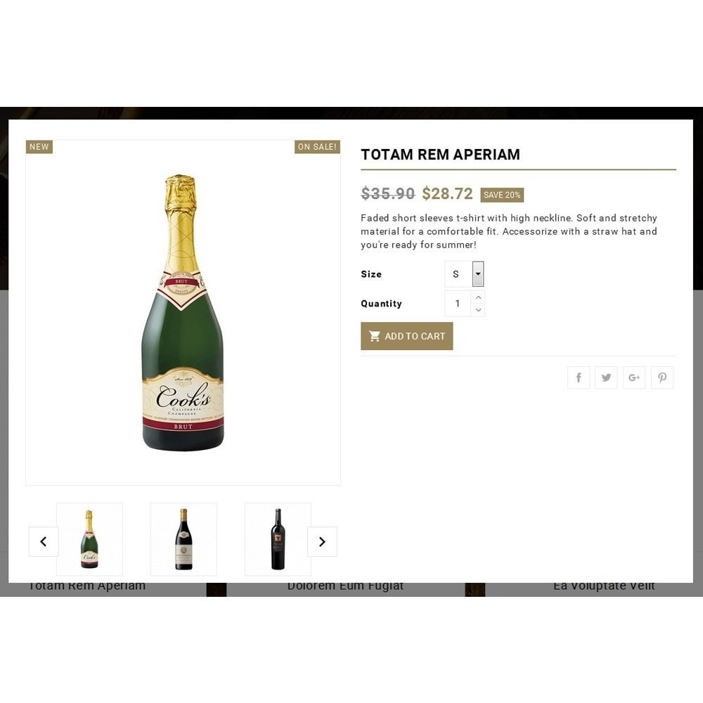 theme - Drink & Wine - Wine & Spirits Store - 7
