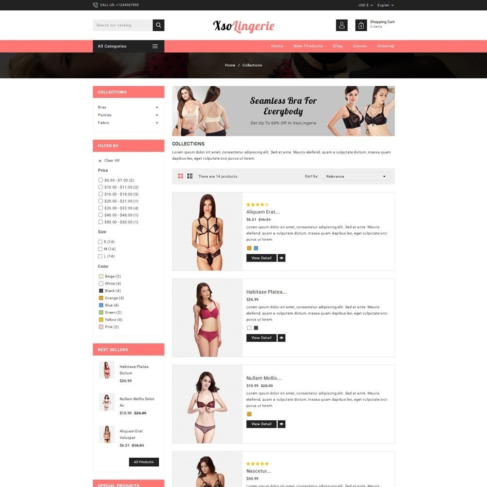 theme - Lingerie & Adulti - XSO Lingerie Store - 4