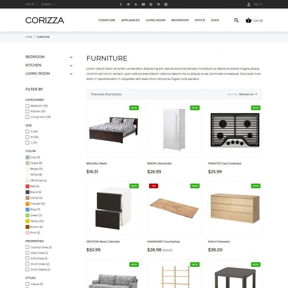 theme - Home & Garden - Corizza - 10