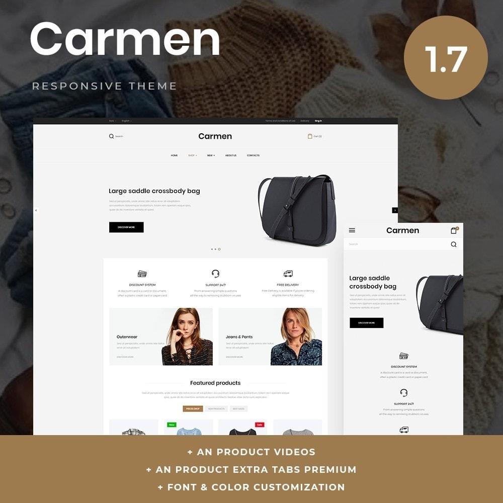 theme - Moda & Obuwie - Carmen Fashion Store - 1