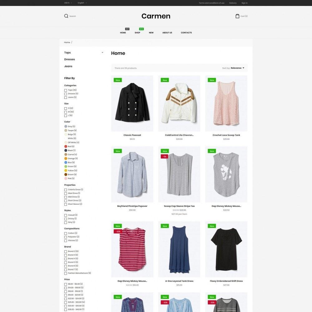 theme - Mode & Chaussures - Carmen Fashion Store - 5