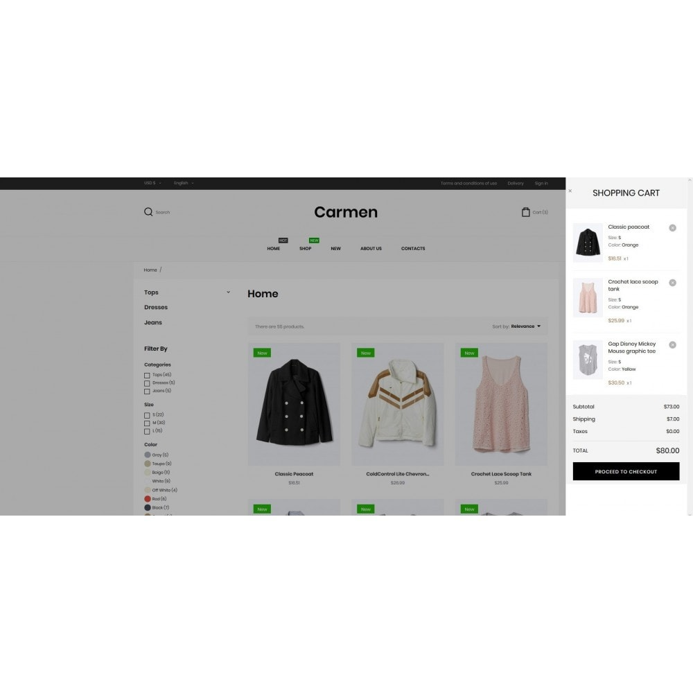 theme - Mode & Chaussures - Carmen Fashion Store - 8