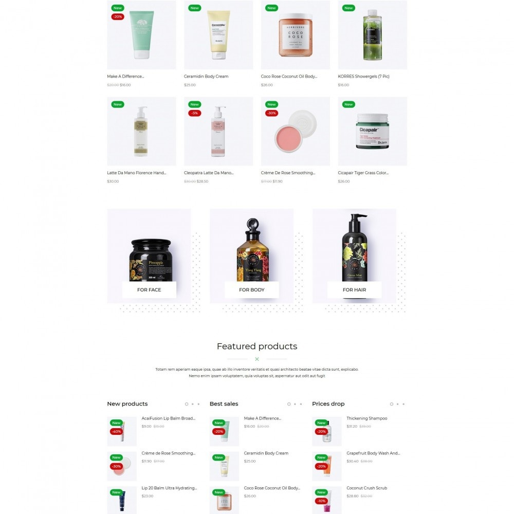 theme - Santé & Beauté - Barossa Cosmetics - 3