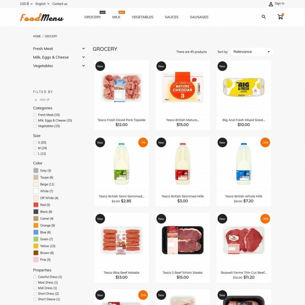 theme - Żywność & Restauracje - FoodMenu - 5