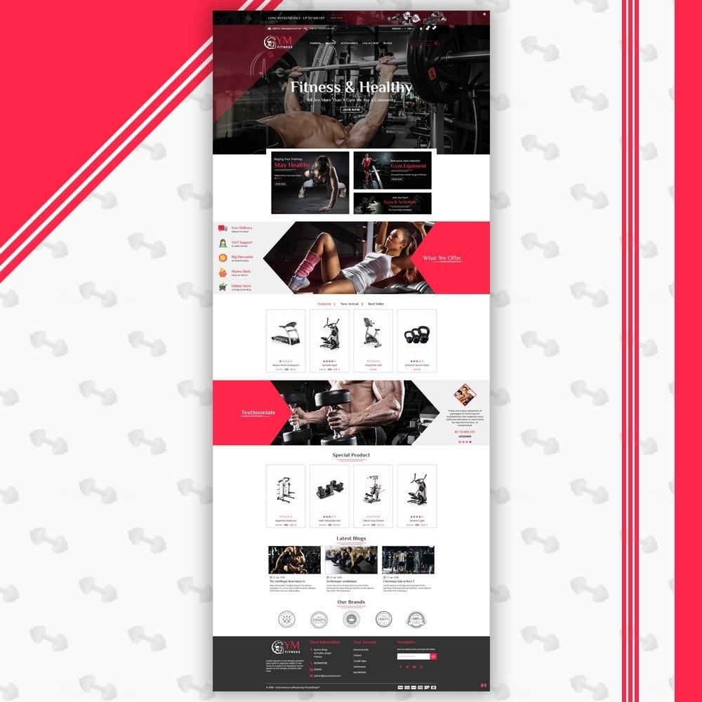 theme - Sports, Activities & Travel - Gym Shop - 2