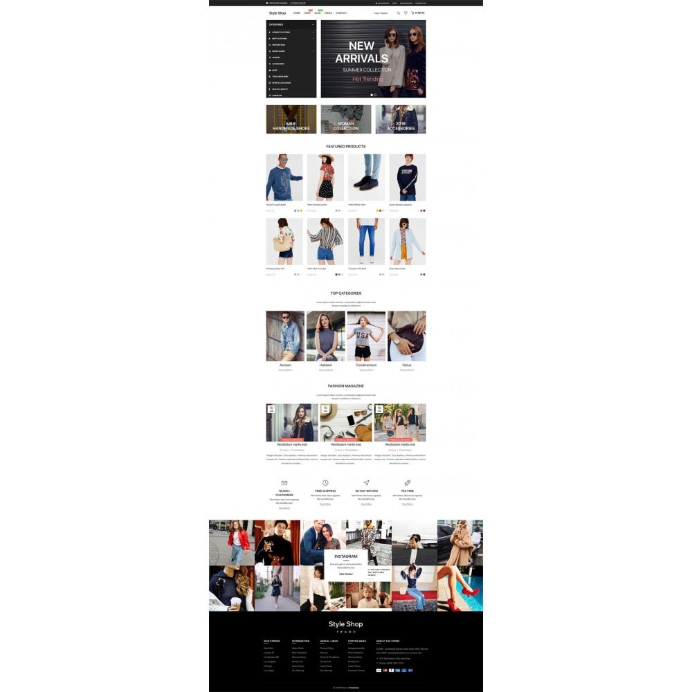 theme - Mode & Chaussures - StyleShop - 7