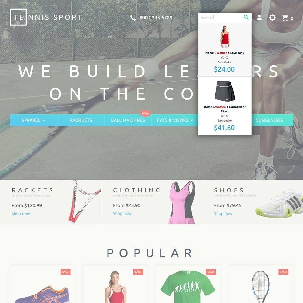 theme - Sport, Loisirs & Voyage - Tennis Sport - 6