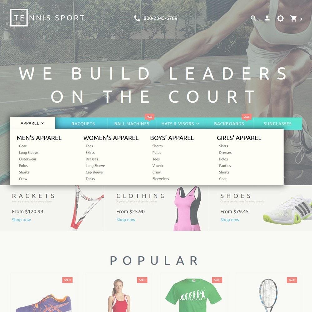 theme - Deportes, Actividades y Viajes - Tennis Sport - 5