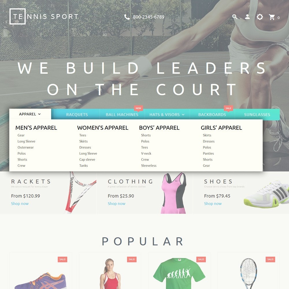 theme - Спорт и Путешествия - Tennis Sport - 5