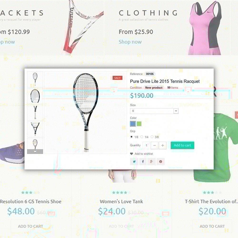 theme - Sport, Attività & Viaggi - Tennis Sport - 4