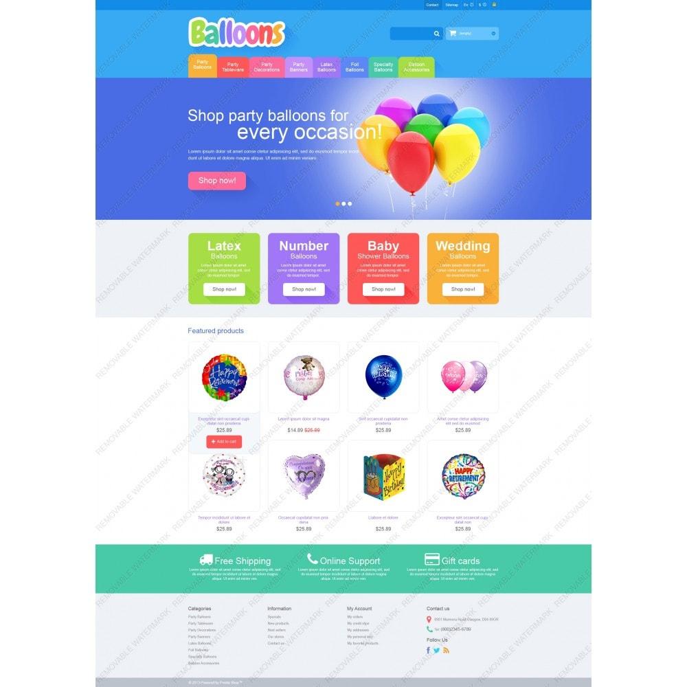 theme - Bambini & Giocattoli - Responsive Balloons Store - 5