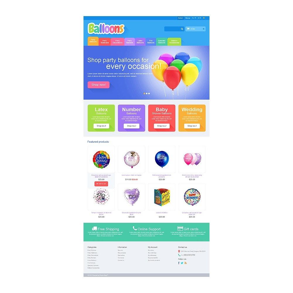 theme - Дети и Игрушки - Responsive Balloons Store - 10