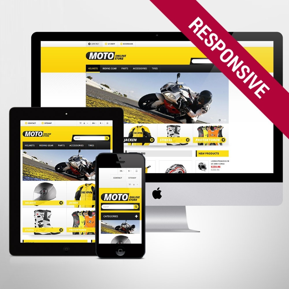 theme - Auto's & Motoren - Bike Shop - 1