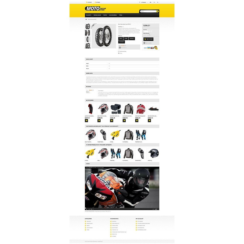 theme - Auto & Moto - Magasin de motos - 6