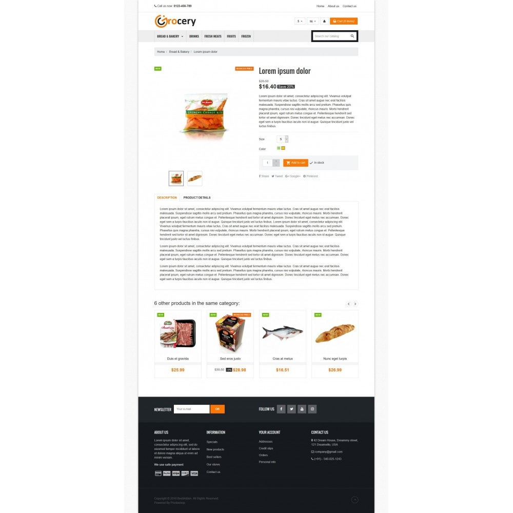 theme - Alimentation & Restauration - VP_Grocery Store - 4
