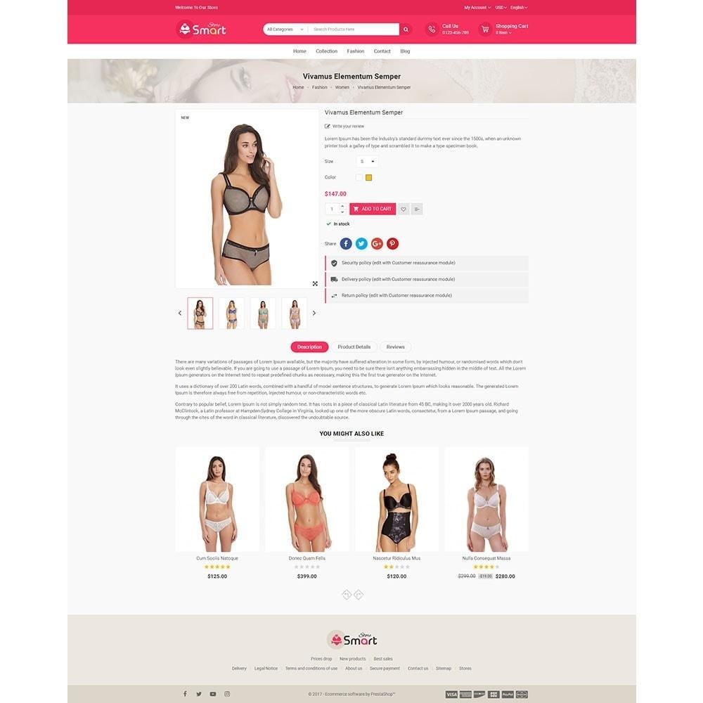 theme - Нижнее белье и товары для взрослых - Lingerie Smart Store - 5