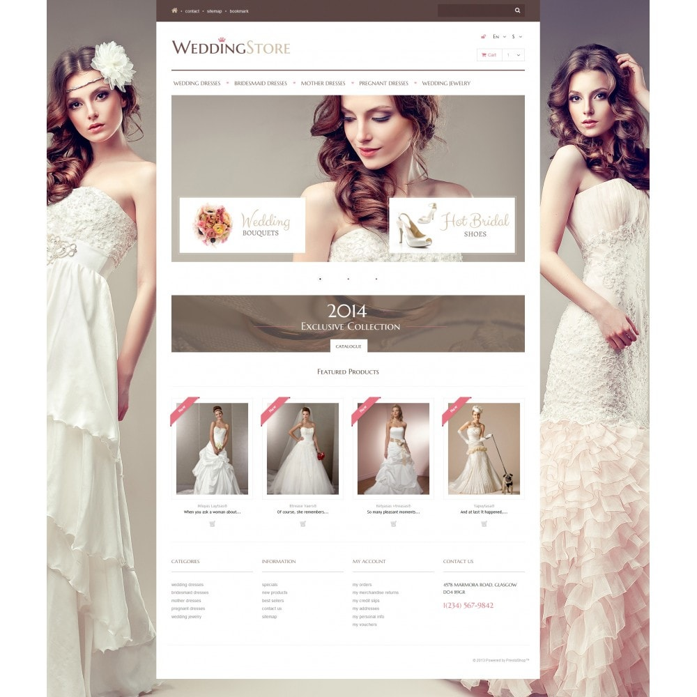theme - Fashion & Shoes - Wedding Store - 4
