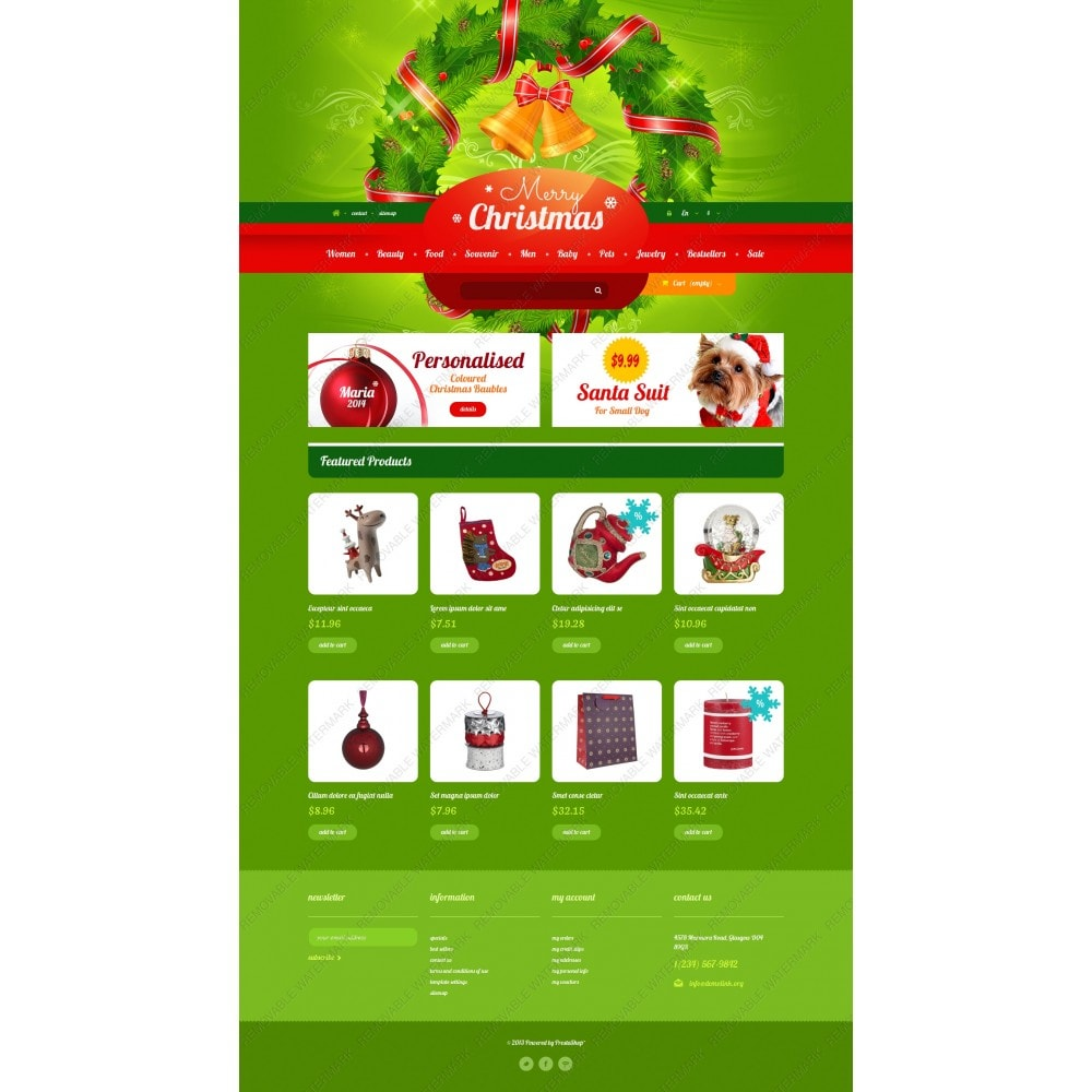 theme - Gifts, Flowers & Celebrations - Christmas Gift Shop - 5