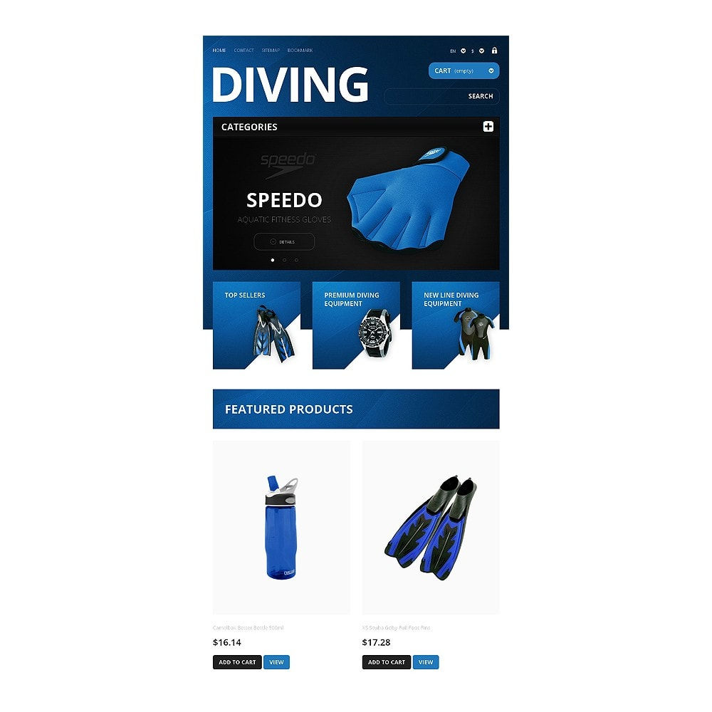 theme - Sports, Activities & Travel - Majestic Diving - 7