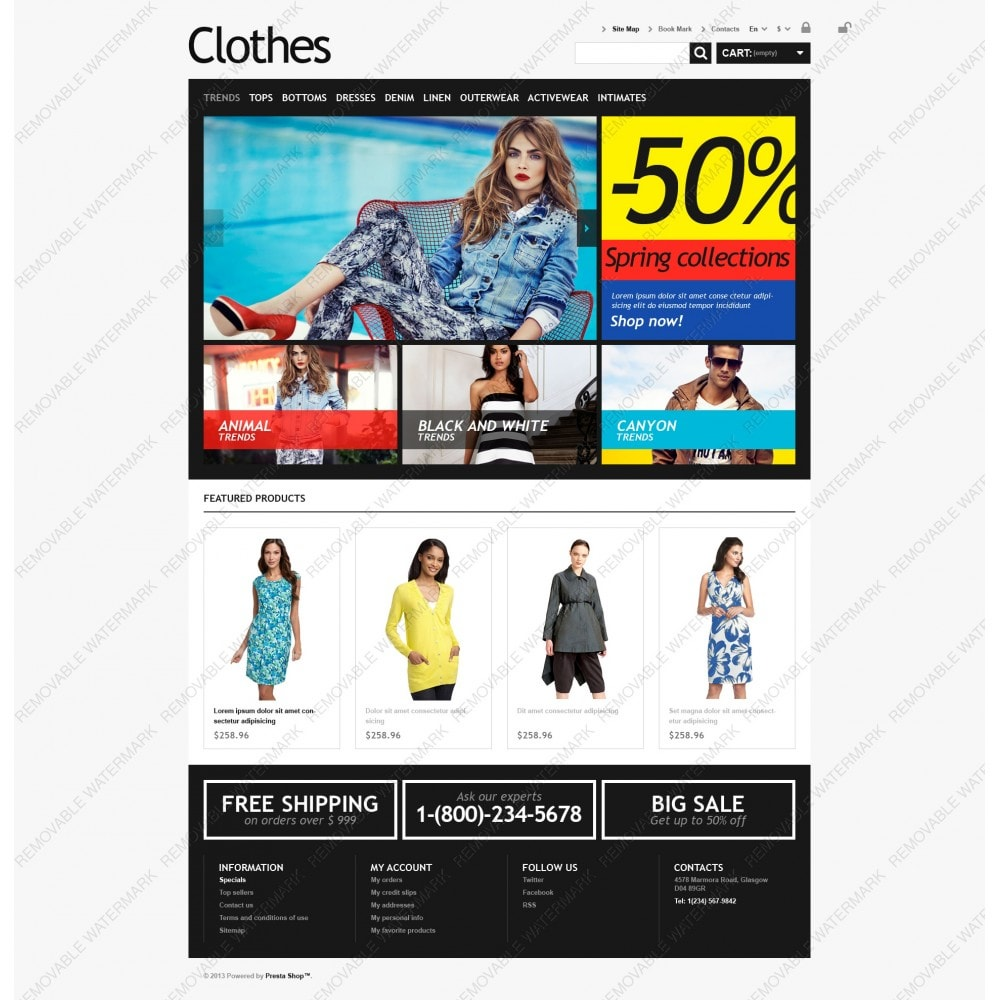theme - Moda & Calzature - Clothes for Choosy Women - 5