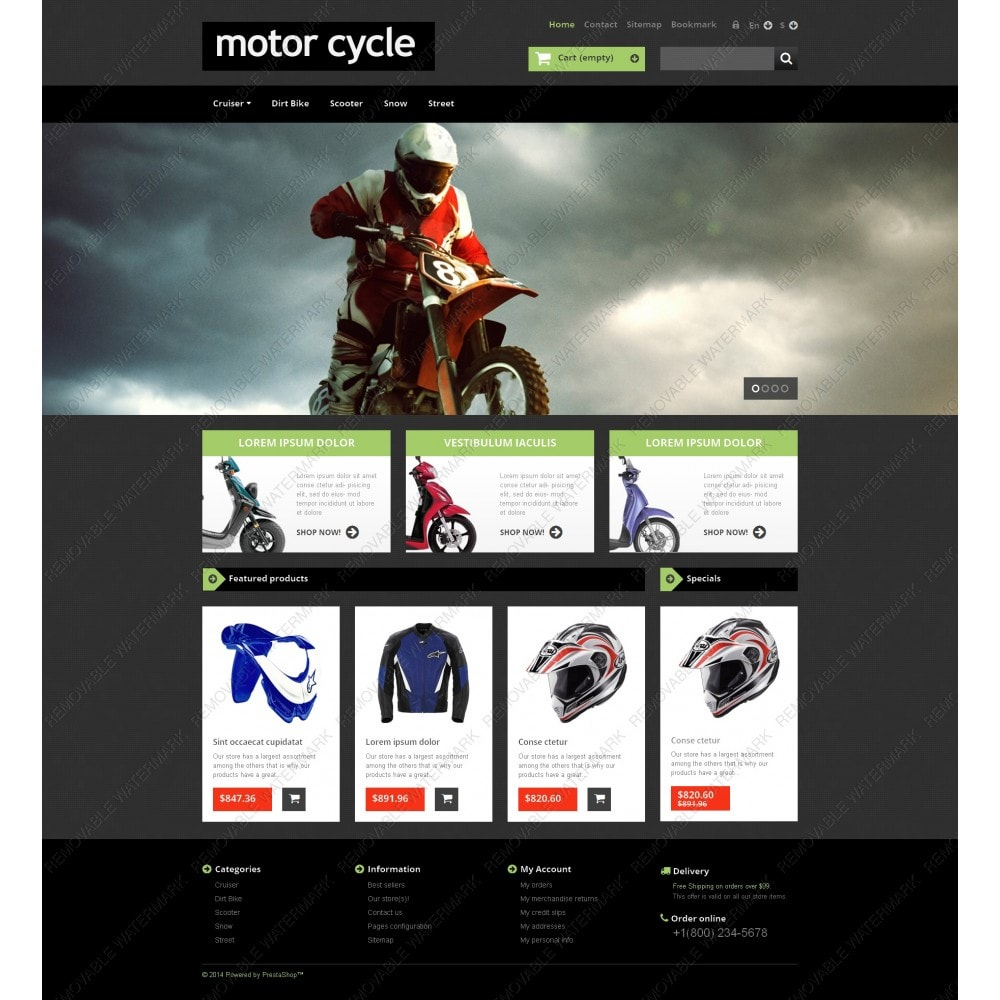 theme - Auto & Moto - Motor Cycle - 3