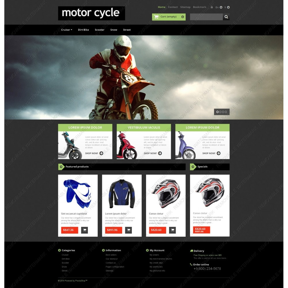 theme - Carros & Motos - Motor Cycle - 5