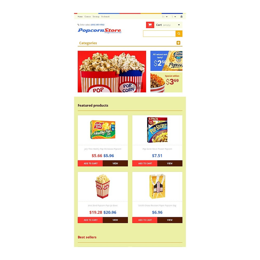 theme - Lebensmittel & Restaurants - Salt  Sweet Popcorn - 7