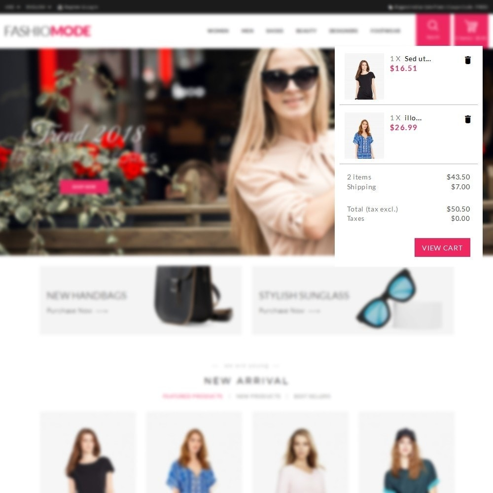 theme - Mode & Chaussures - Fashionmode Store - 8