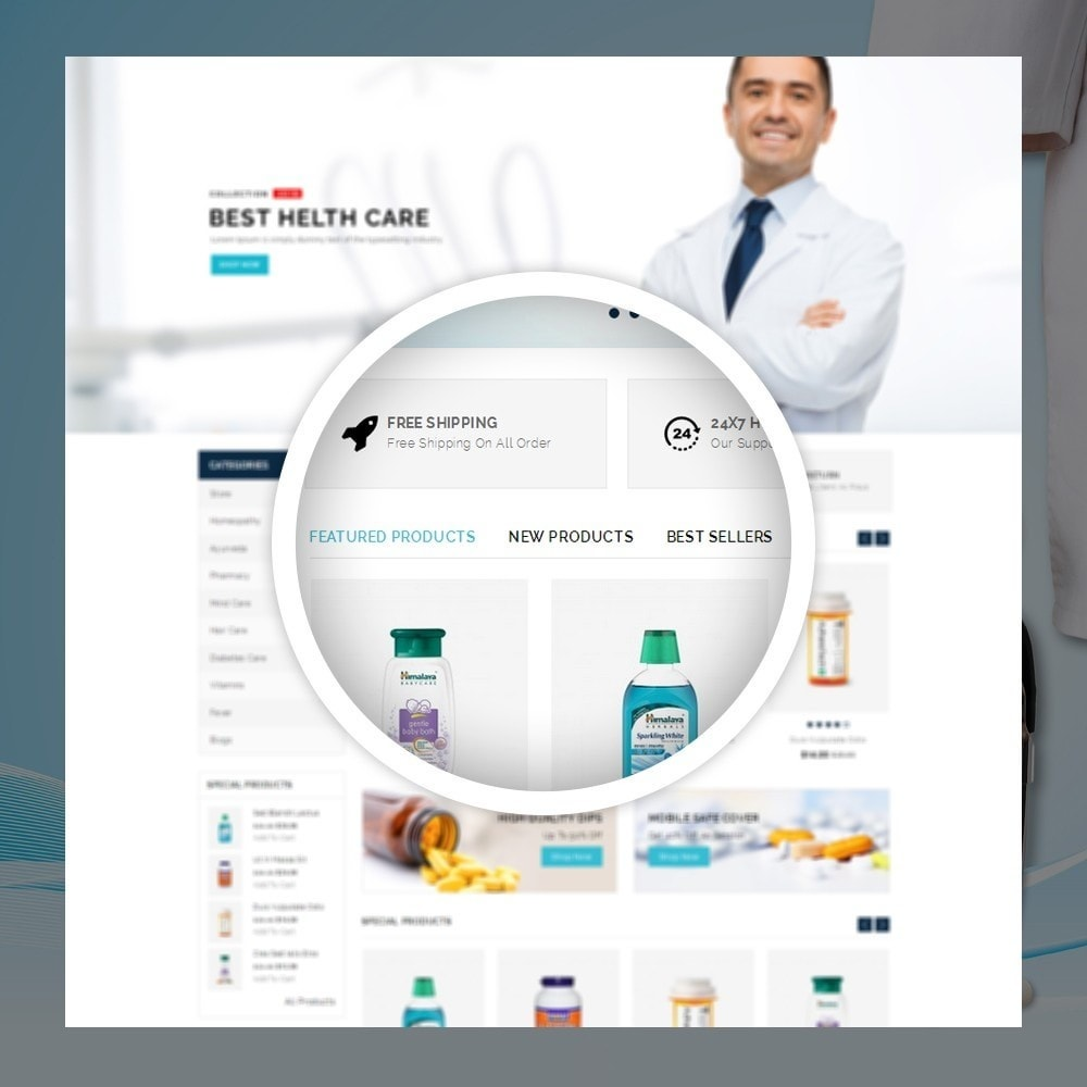 theme - Health & Beauty - Metromed - The Medicine Shop - 9