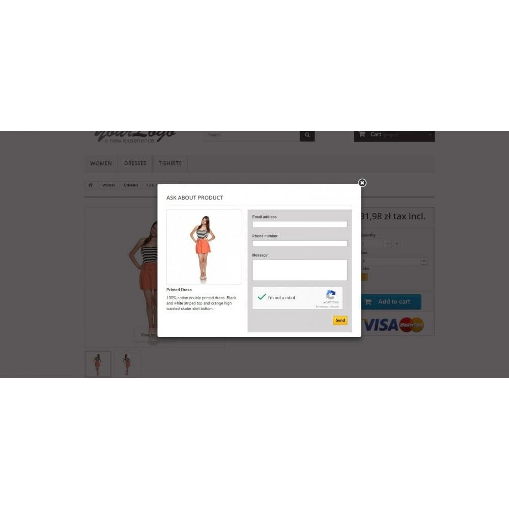 module - Formularz kontaktowy & Ankiety - Zapytaj o produkt - formularz kontaktowy z CAPTCHA - 4