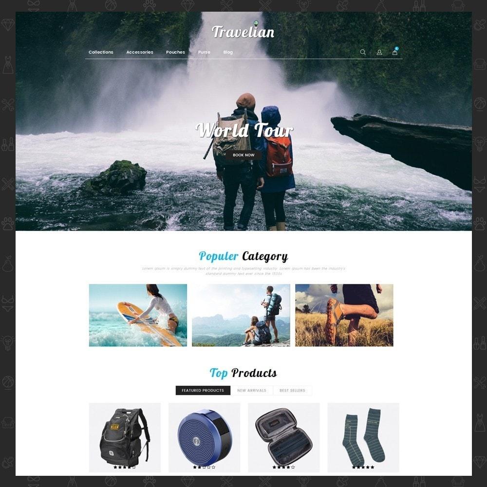theme - Sport, Loisirs & Voyage - Travelian - Travel Store - 2