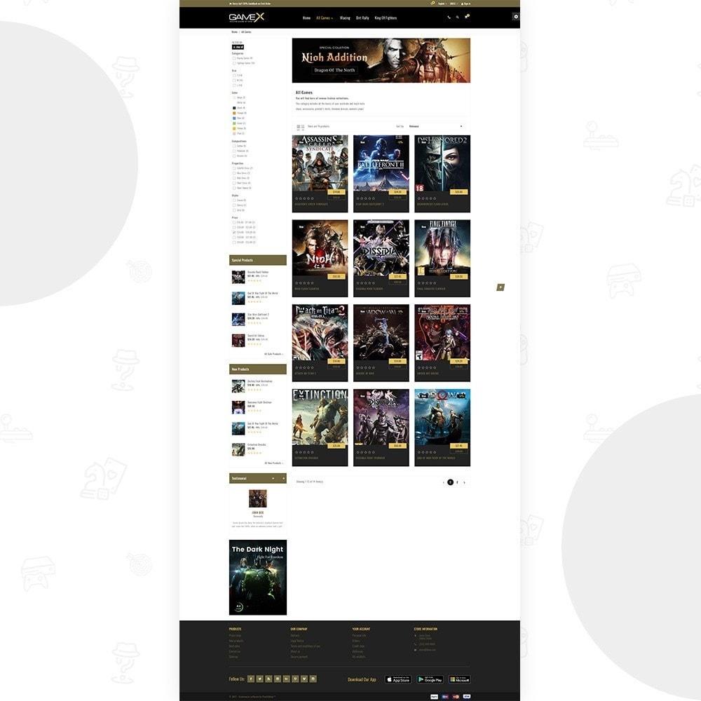 theme - Sport, Activiteiten & Reizen - GameX Game and Play Super Sports Store - 4